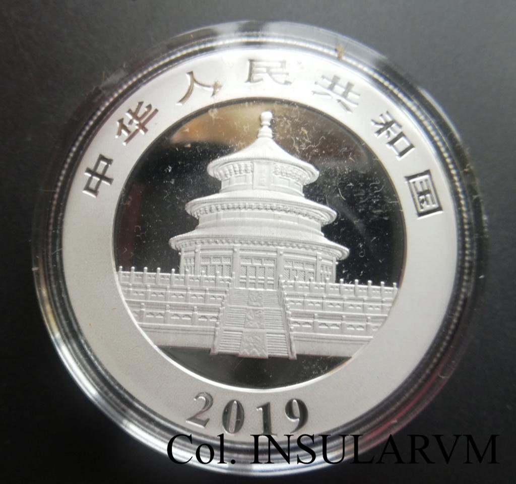 China, 10 Yuan. 2019. Panda. FDC/BU 1_onza50