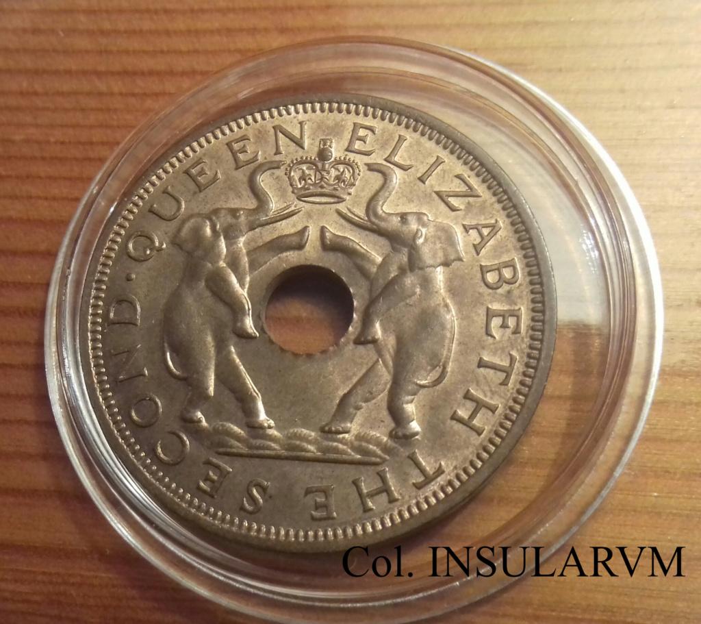 RHODESIA & NYASALAND, 1 Penny. 1958. Admón británica. SC/UNC 1_penn11