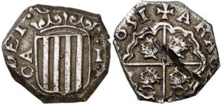 1 Real. 1651. Zaragoza. C A. Felipe IV.  MBC+ 1_real10