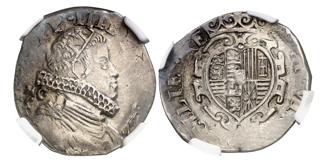 1 Tari. 1622. Nápoles. MC-C. Felipe IV. NGC MS 61. Ex Heritage (20/04/2018) 1_tarz12