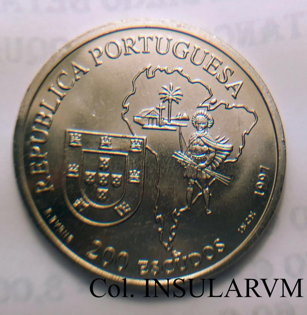 """Portugal, 200 Escudos. 1997. Beato """"Padre Anchieta"""". SC/UNC 200_es11"""