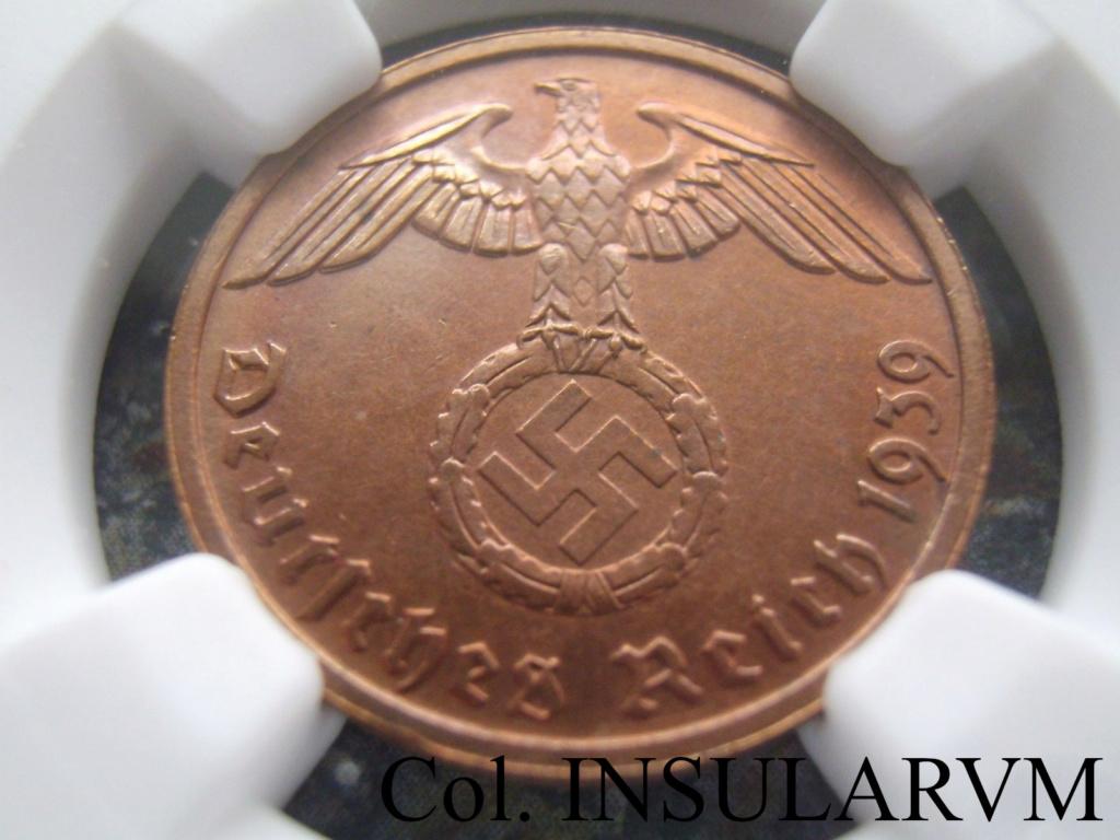 III Reich, 2 ReichsPfennig 1939-B  NGC UNC DETAILS CLEANED 2_reic10