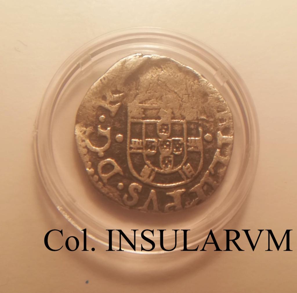 Vintém (XX Reais). Felipe III (1598-1621). Lisboa. MBC-/BC+ 4_mara16