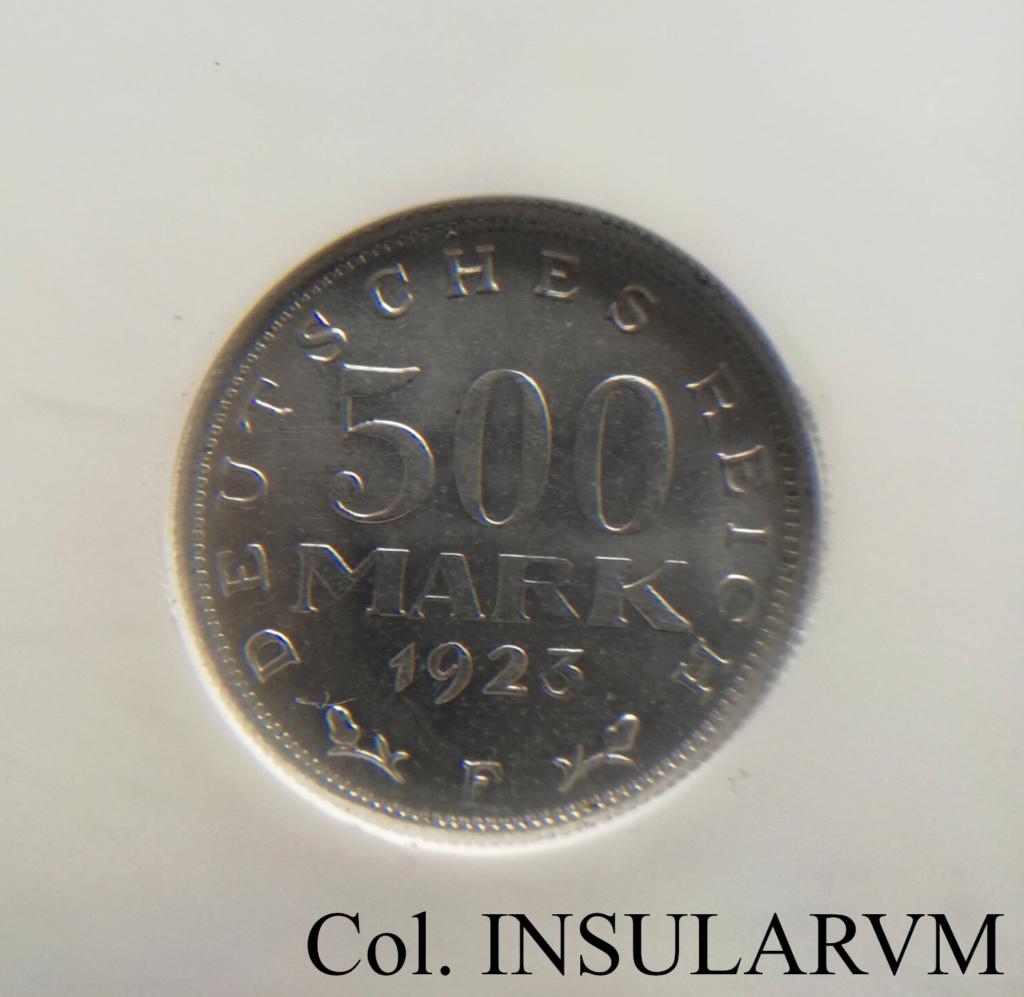 República de Weimar, 500 ReichsMark. 1923-F. NGC MS 66 500_re10