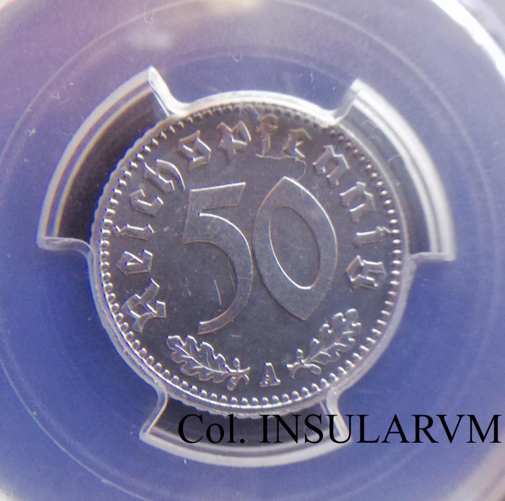 III Reich, 50 ReichsPfennig. 1943-A (Berlín). PCGS MS 64 50_rei11