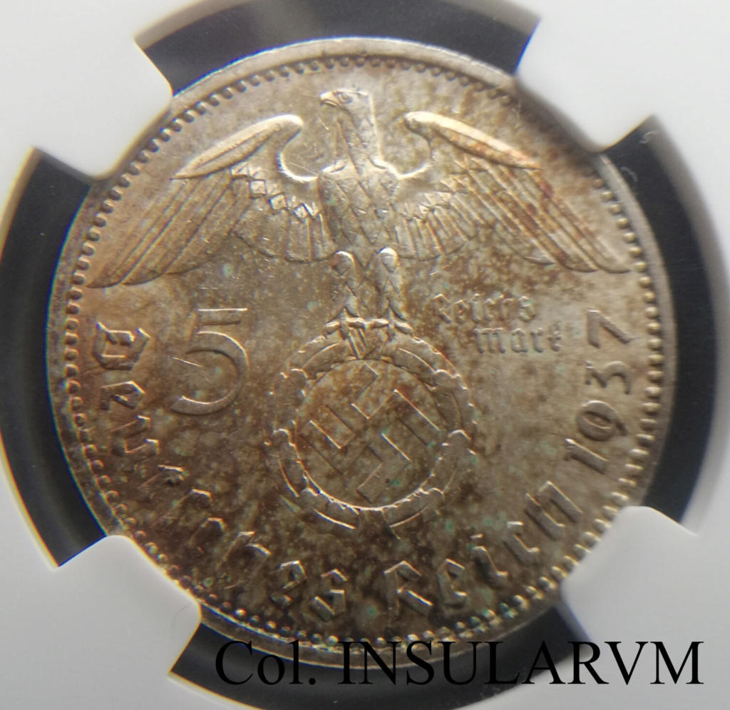 III Reich, 5 ReichsMark 1937-E (Silver) NGC MS 62 5_reic13