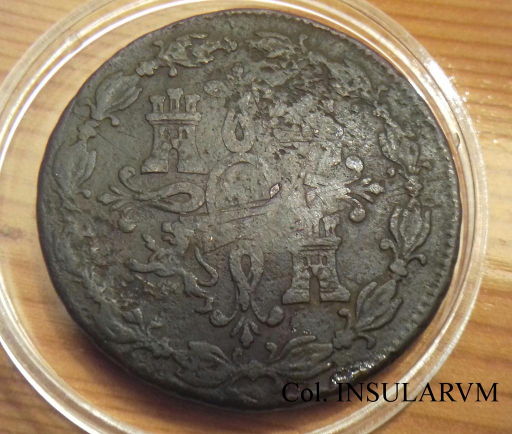 Carlos III, 8 Maravedís 1788 (Segovia), Resello ¿¿Morelos?? 8_mara12