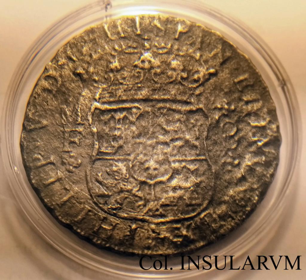 """Felipe V. 8 Reales. 1739. MF. México. """"Pecio Cuba Desconocido (Ca. 1741-1742)"""". 8_real20"""