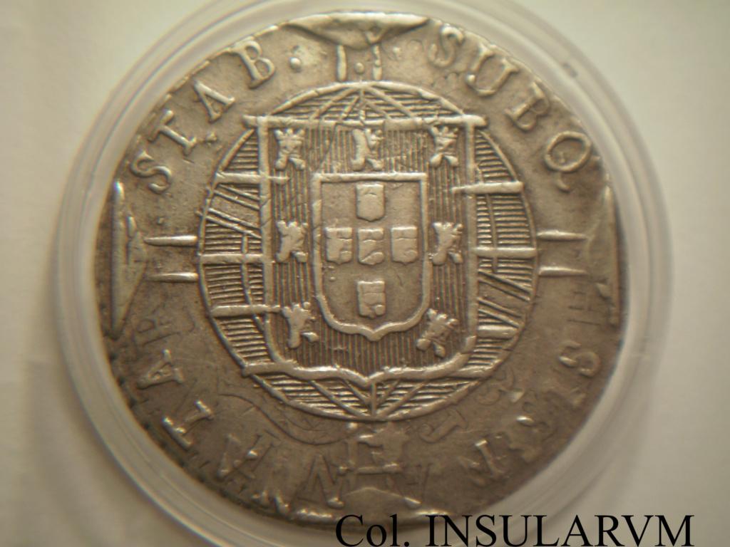 Brasil/España, 960 Reis 1821 (Juan VI) acuñados sobre 8 Reales (Ceca peninsular) 960_re12