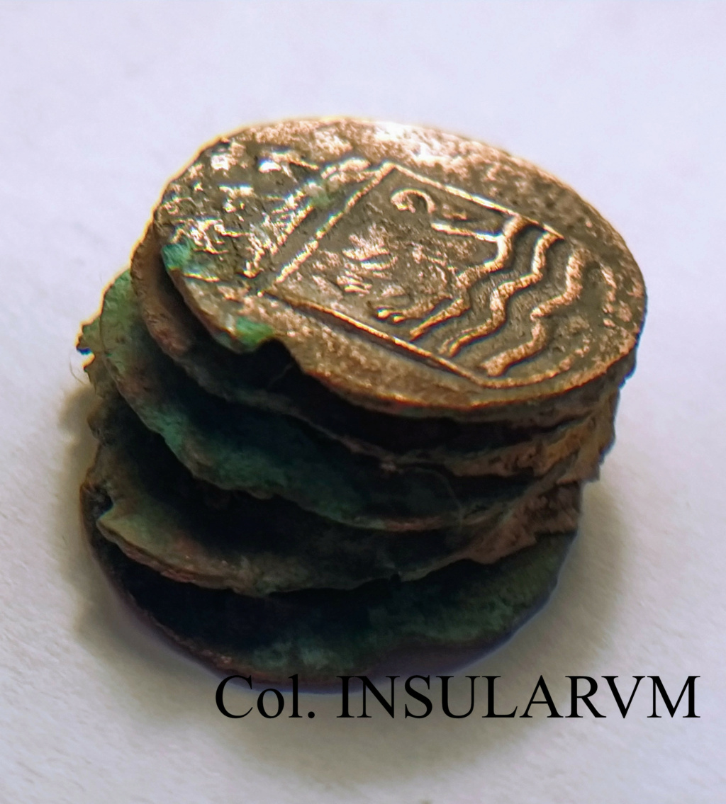 "Duit. 1752. Zelandia. ""Clump"" (5 monedas). VOC. ""Bredenhof Wreck (1753)"" Clump_10"