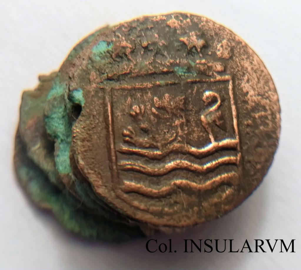 "Duit. 1752. Zelandia. ""Clump"" (5 monedas). VOC. ""Bredenhof Wreck (1753)"" Clump_11"