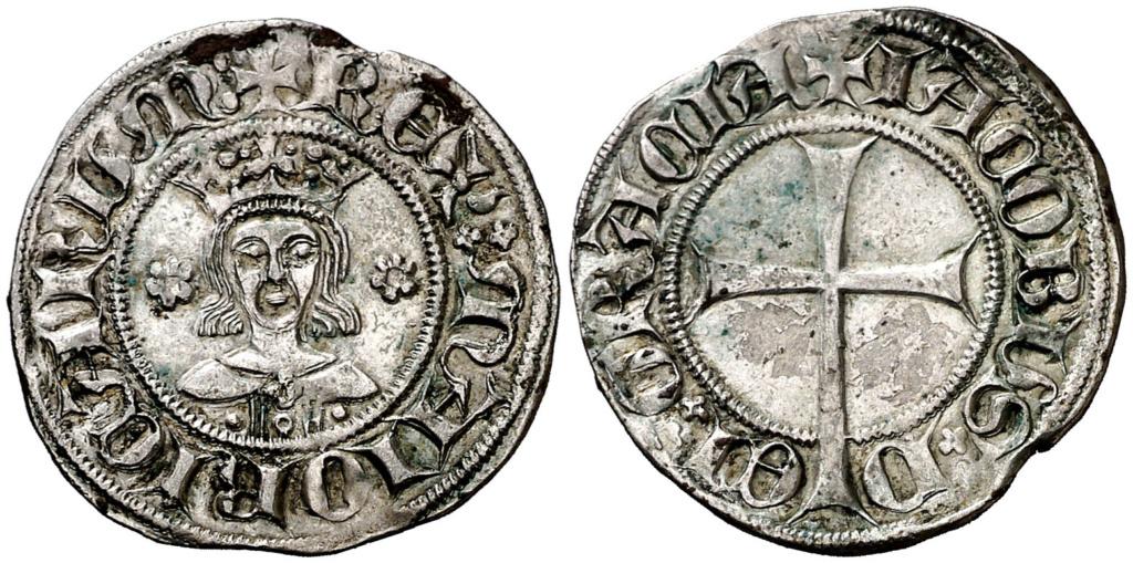 Dobler, Jaume III (1324-1343). Mallorca. MBC+. Dedicado a María Antonia Dobler12