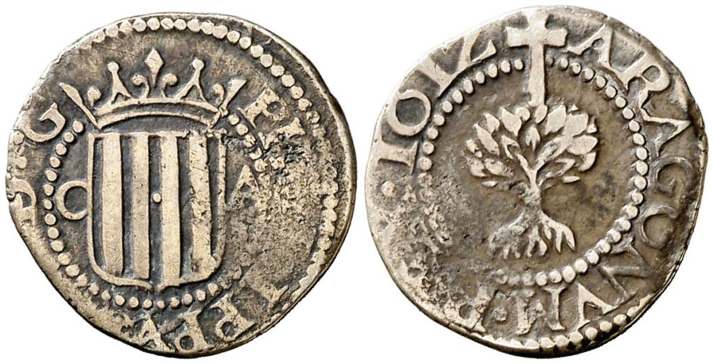 Felipe III. ½ Real. 1612. Zaragoza. Ex Col. Ramón Muntaner. MBC- Medio_19