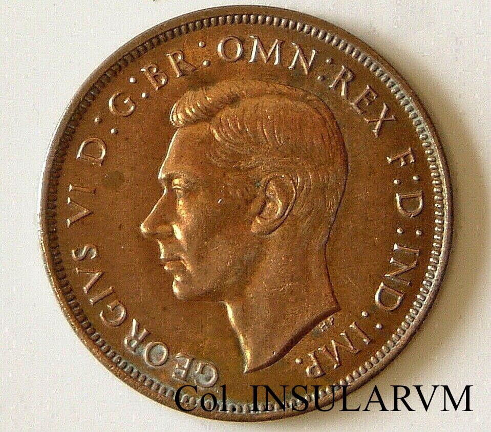 "Reino Unido. ""One Penny"". 1937. Londres. Jorge VI. SS LONGSHIPS shipwreck (1939) Penny_10"