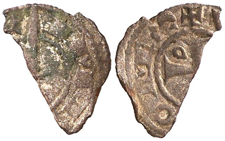 Hugo IV, Óbolo. ND. Ampurias. BC/BC+ Zsbolo10