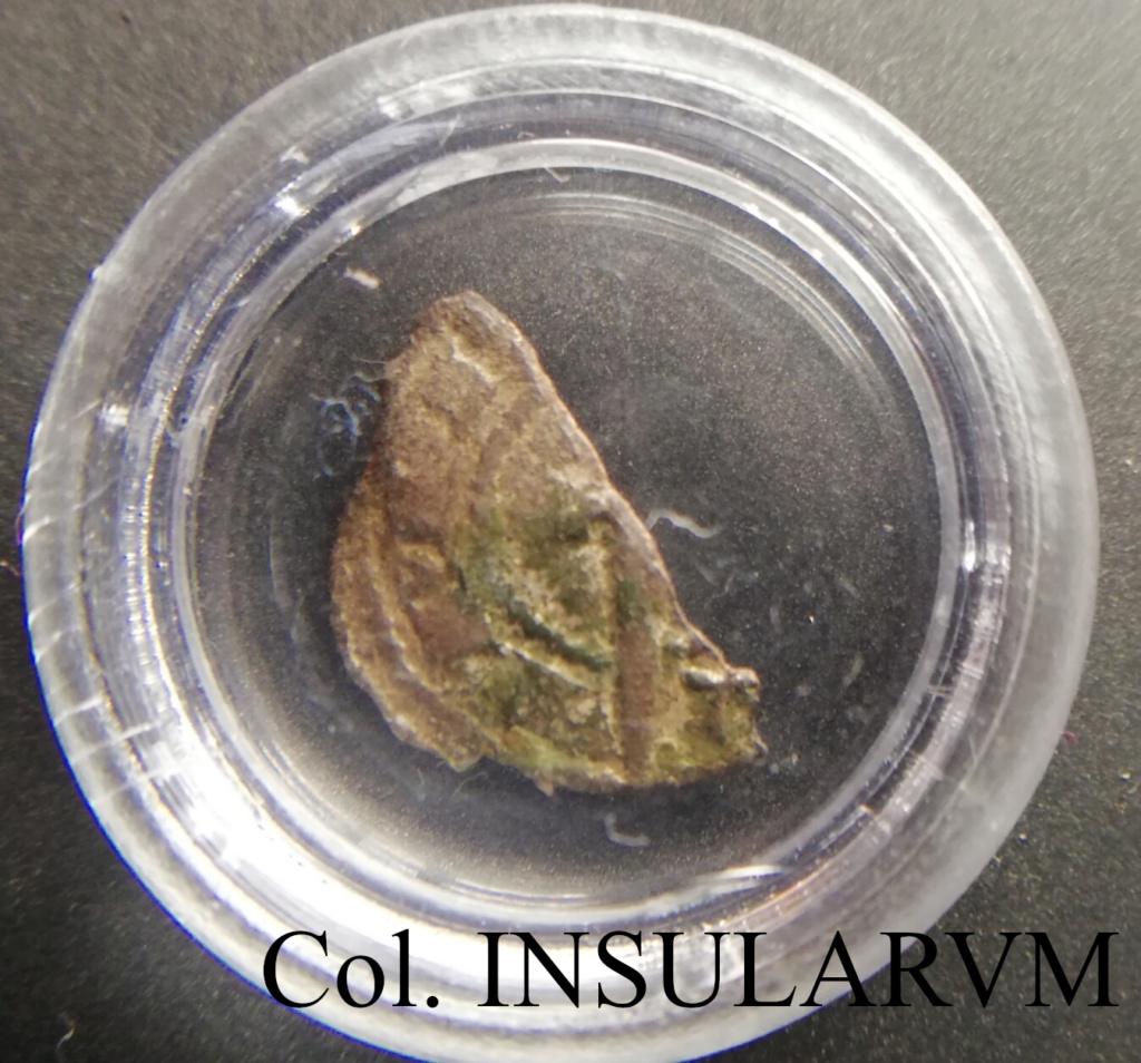 Hugo IV, Óbolo. ND. Ampurias. BC/BC+ Zsbolo11