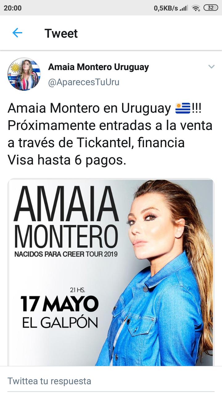 """Amaia Montero >> álbum """"Nacidos Para Creer"""" (II) Screen12"""