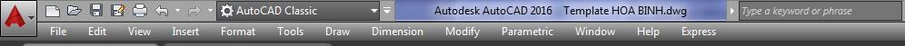 Đổi giao diện AutoCAD Ribbon đời cao về AutoCAD Classic 1-png_10
