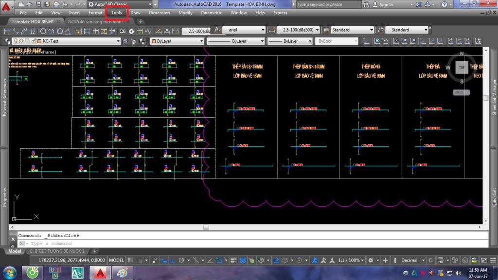 Đổi giao diện AutoCAD Ribbon đời cao về AutoCAD Classic 3-png_10