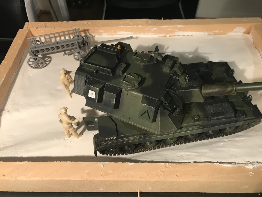 AS-90 IFOR Guerre de Bosnie - 1/35 - Trumpeter Img_1511
