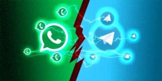 WhatsApp vs Telegram: chi vince ? Telegr11