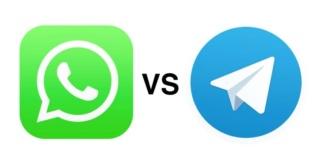 WhatsApp vs Telegram: chi vince ? Whatsa12