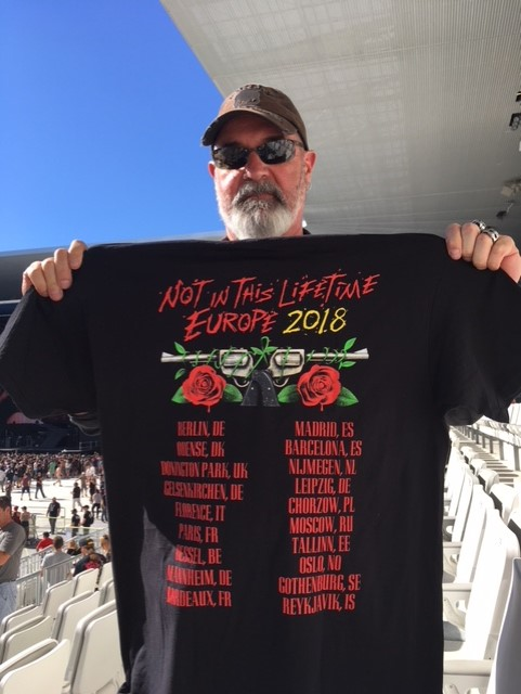 GNR - Not in this lifetime tour - stade de France Concer10
