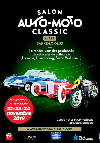 2e édition du Salon Auto-Moto Classic Metz du 22 au 24 novembre Captur12