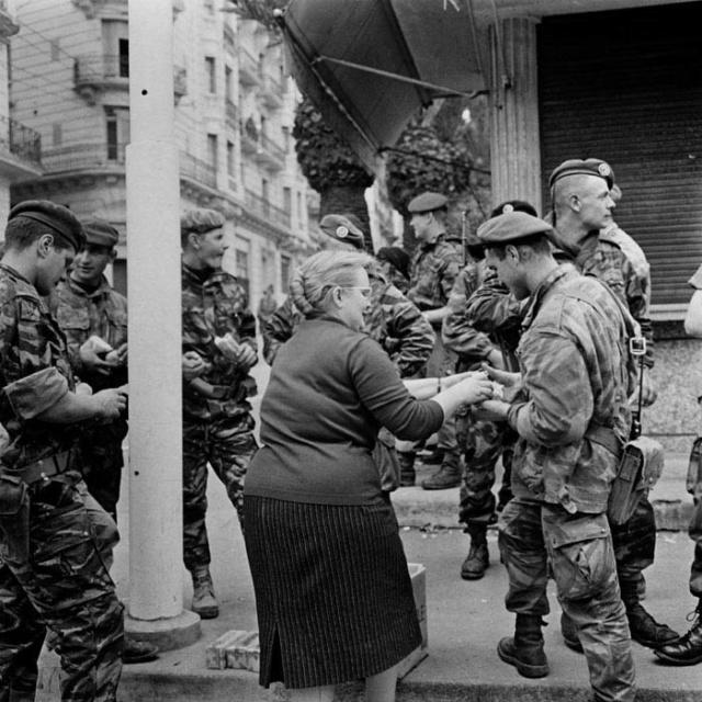 S/Lt Yves Müller 1er RCP « Les barricades » 01-24-11