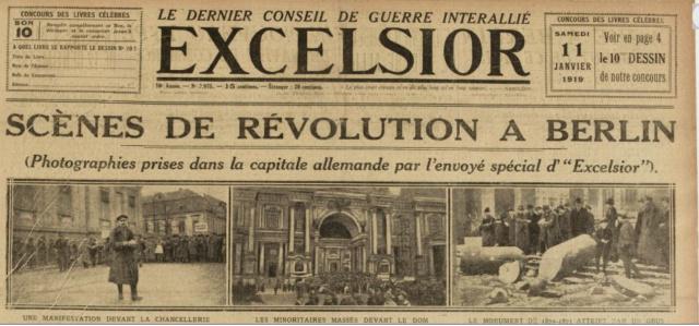 Le 11 janvier 1919 12178811