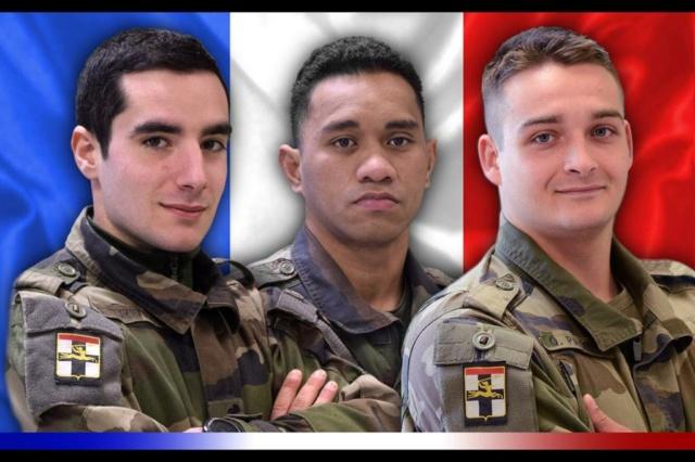 Mali : Décès de trois soldats appartenant au 1er régiment de chasseurs  13357310