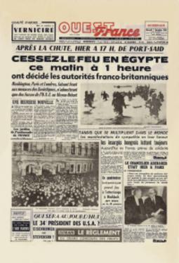 Canal de Suez juillet 1956 1956-110