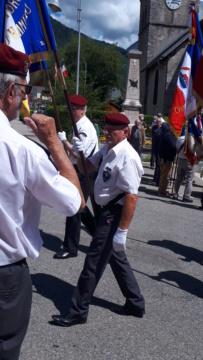 Hommage aux fusillés d'Ecole en Bauges du 6 juillet 1944 20200711