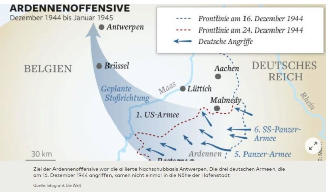 Bataille des Ardennes:«La Wehrmacht n'avait pas la moindre chance», selon Rick Atkinson A0110