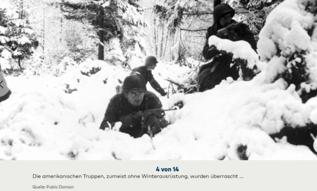 Bataille des Ardennes:«La Wehrmacht n'avait pas la moindre chance», selon Rick Atkinson A0310