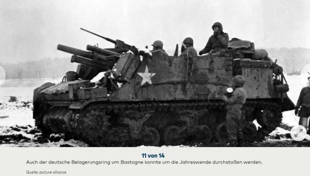 Bataille des Ardennes:«La Wehrmacht n'avait pas la moindre chance», selon Rick Atkinson A0810