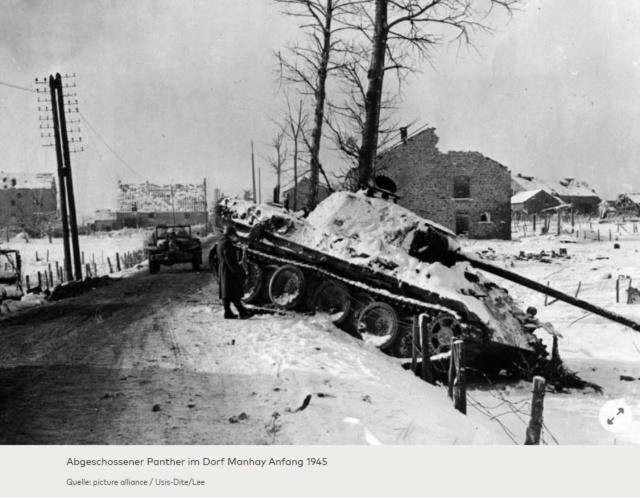 Bataille des Ardennes:«La Wehrmacht n'avait pas la moindre chance», selon Rick Atkinson A111