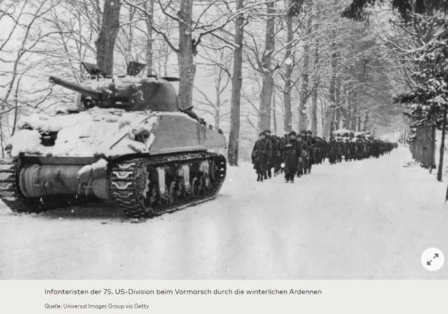Bataille des Ardennes:«La Wehrmacht n'avait pas la moindre chance», selon Rick Atkinson A211