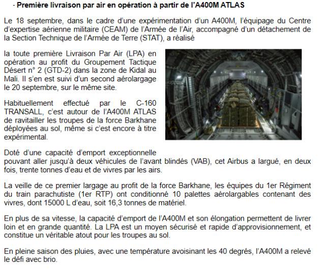 - LES AÉRONEFS A40010