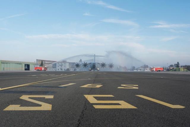 Accueil du 16ème A400M par l'Armée de l'Air A400_110