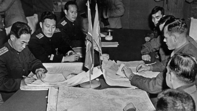 Ce jour-là : 27 juillet 1953 Fin de la guerre de Corée  B9714311