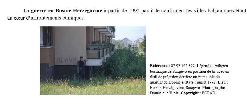 Combat de rues                    Bosnie10