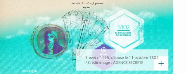 11 octobre 1802 Jeanne Labrosse dépose le brevet N° 195 Brevet15