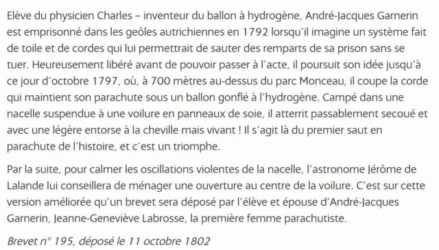 11 octobre 1802 Jeanne Labrosse dépose le brevet N° 195 Brevet16