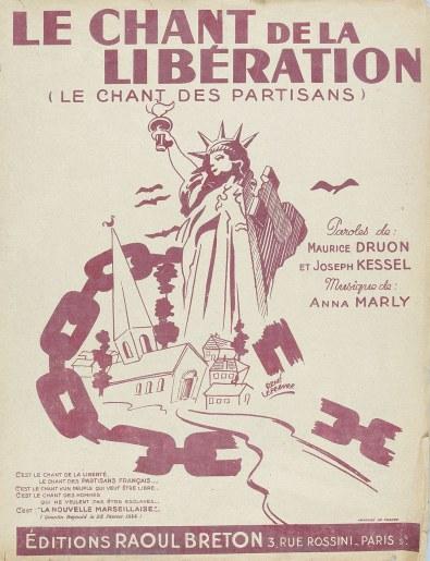 Le 30 mai 1943 le Chant des Partisans Chant-10