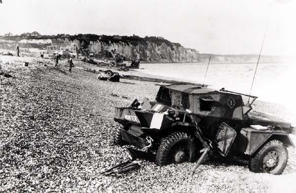 Ce jour là : 19 août 1942  Débarquement de Dieppe Dieppe10