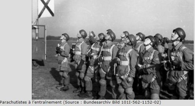 Parachutistes allemands Seconde Guerre Mondiale Entr11