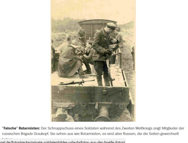 2ème Guerre mondiale. Des Russes derrière les lignes russes ! Gk211