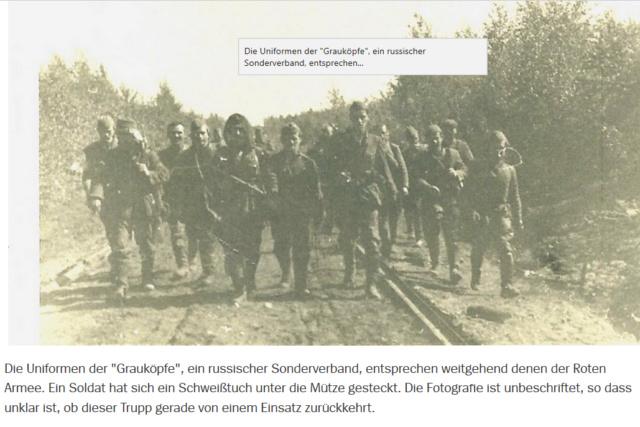 2ème Guerre mondiale. Des Russes derrière les lignes russes ! Gk311