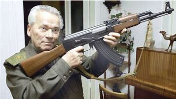 Fusil d'assaut Kalachnikov K12